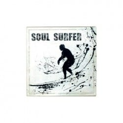 PLACA PARED SOUL SURFER 30X30 CM.
