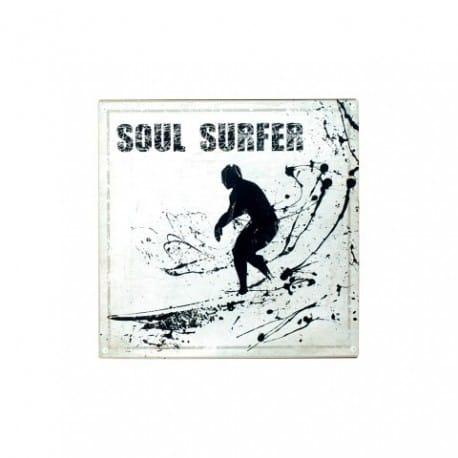 PLACA PARED SOUL SURFER 30X30 CM.