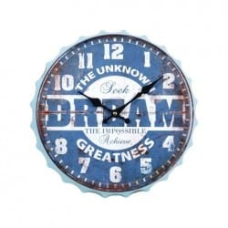 RELOJ PARED DREAM 33X33X3.5 CM.