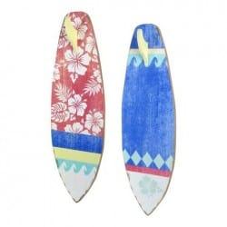 SET 2 PERCHAS 1 POMO TABLA SURF 60X20X6 CM.