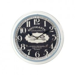 RELOJ PARED ITALIANO 31X31X6.5 CM.