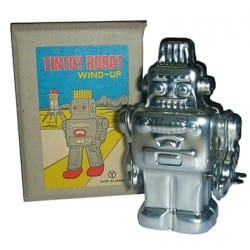 ROBOT 204M PLATEADO