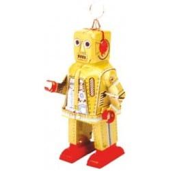 SPACE ROBOT DORADO