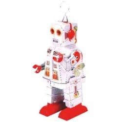 SPACE ROBOT PLATEADO