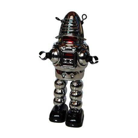ROBOT ROBBY PLATEADO