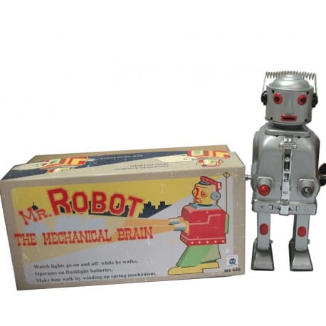 MR. ROBOT PLATEADO