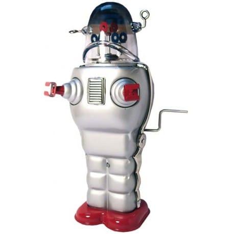 ROBOT PLATEADO TR2007
