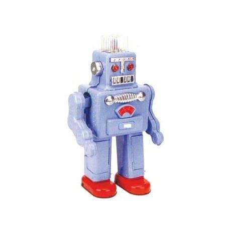 ROBOT SMOKING AZUL