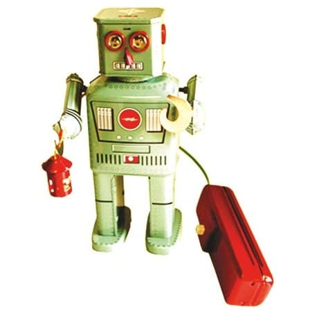 ROBOT LINTERNA