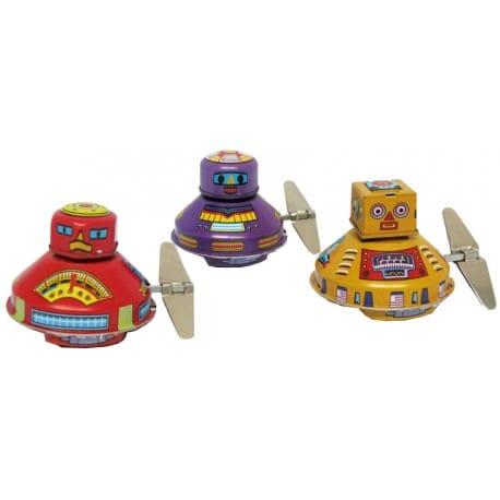 TRES MINI-ROBOTS EXPLORADORES