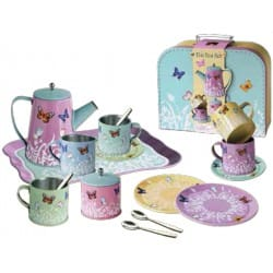 SET DE TÉ MARIPOSAS