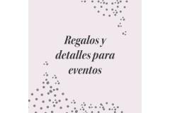 Detalles para eventos y celebraciones especiales